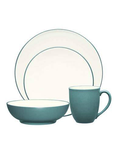 Noritake Colorwave 4 Piece Place Setting-TURQUOISE-One Size