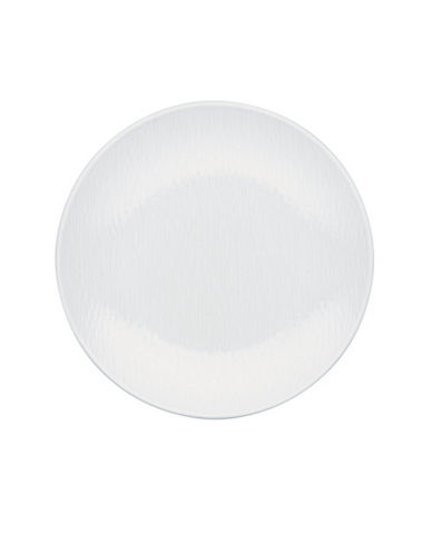 Noritake Wow Wave Salad Plate-WHITE ON WHITE-One Size