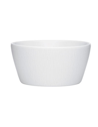 Noritake Wow Wave Cereal-WHITE ON WHITE-One Size