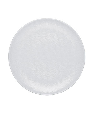 Noritake Wow Snow Dinner Plate-WHITE ON WHITE-One Size