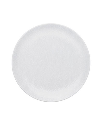 Noritake Wow Snow Round Platter-WHITE-One Size
