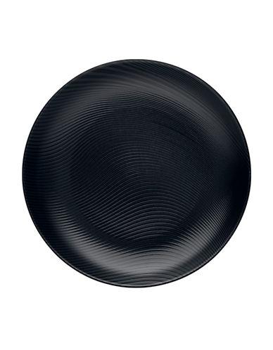 Noritake Bob Dune Round Platter-BLACK-One Size