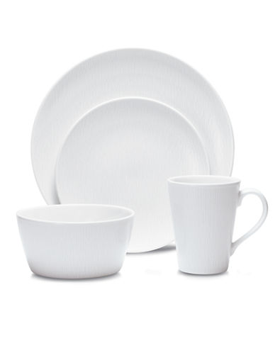 Noritake WoW Wave 4 Piece Place Setting-WHITE-One Size 86389537_WHITE_One Size