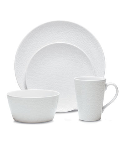 Noritake WoW Snow 4 Piece Place Setting-WHITE-One Size 86389538_WHITE_One Size