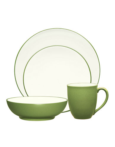 Noritake Colorwave 4 Piece Place Setting-APPLE GREEN-One Size