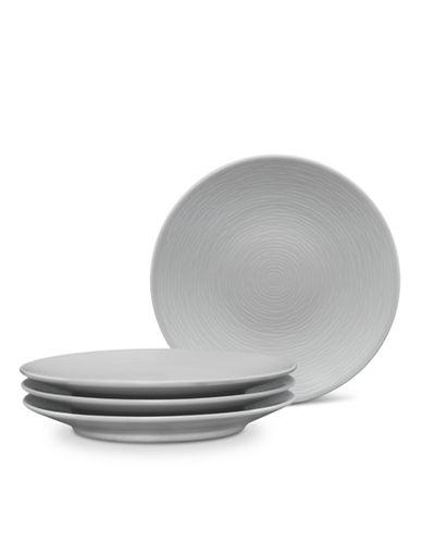Noritake GoG Swirl Appetizer Plate-GREY-One Size
