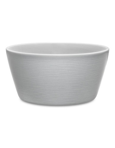 Noritake Swirl GOG 6 Inch Cereal Bowl-GREY-One Size