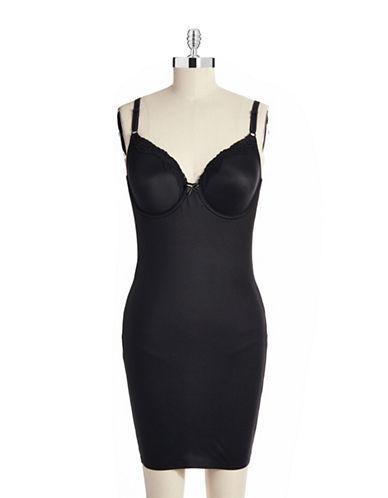Maidenform Comfort Devotion Smooth Body Full slip-BLACK-36B plus size,  plus size fashion plus size appare