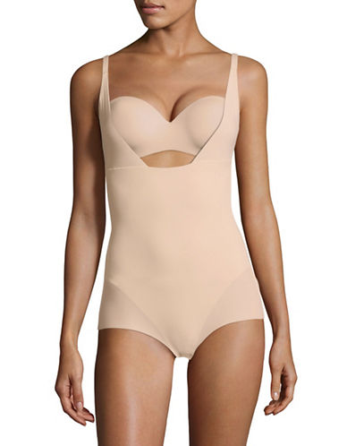 Maidenform Wear Your Own Bra Body Briefer-PARIS NUDE-Medium