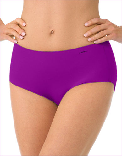 Jockey No Panty Line Promise Hip Brief Panty-POINT LEAF-8