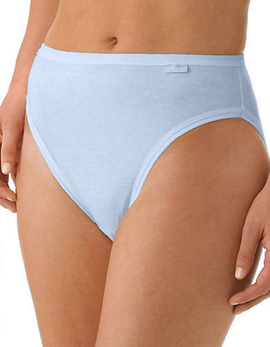 Jockey Three-Pack French Cut Briefs-BLUE-5