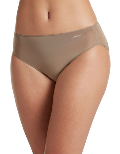 Jockey No Panty Line Bikini Briefs-DEEP BEIGE-5
