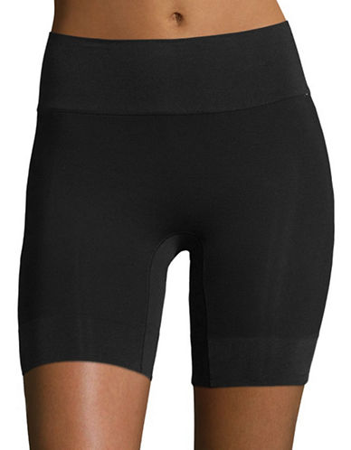 Jockey Skimmies Short-Length Wicking Slipshorts-BLACK-Large