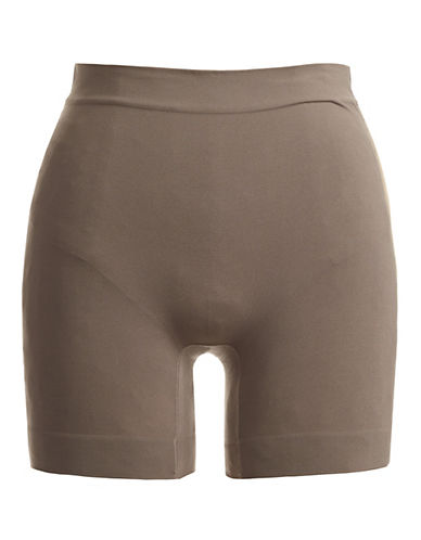 Jockey Skimmies Microfibre Slip Shorts-CAFE LATTE-Large