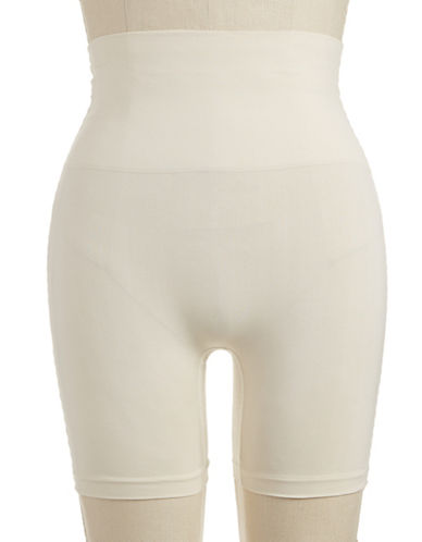 Jockey Seamless Shaping Shorts-SAND-Large