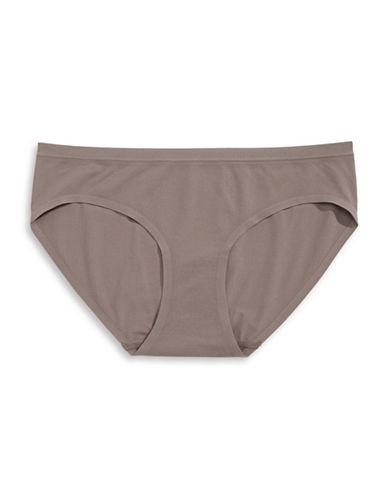 Jockey Microfibre Seam Free Air Bikini Panty-BEIGE-6
