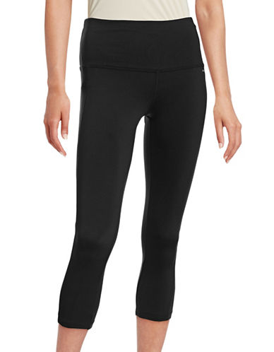 Jockey Reflective Active Capri Leggings-BLACK-Large 88195135_BLACK_Large