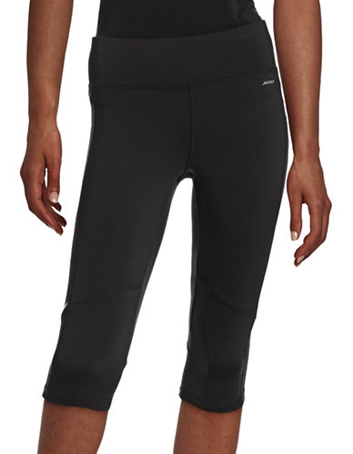 Jockey Reflective Logo Active Leggings-BLACK-Large 88195139_BLACK_Large