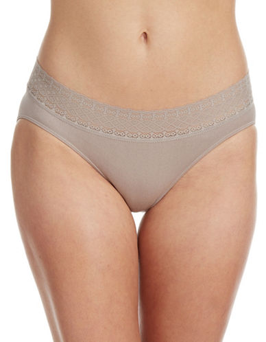 Jockey Seamfree Microfiber Bikini Brief-TAUPE-8