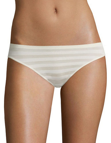 Jockey Matte and Shine Bikini Briefs-SANDY SHIMMER-8