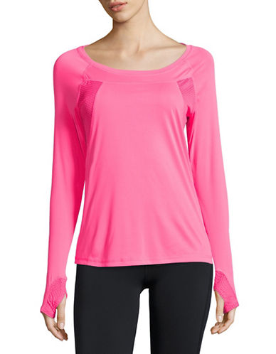 Jockey Vital Sport Long Sleeve T-Shirt-PINK-X-Large 88503750_PINK_X-Large
