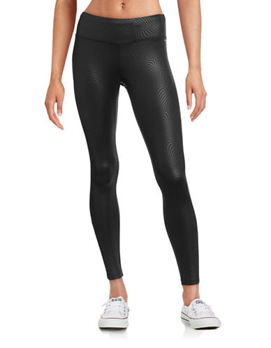 Jockey Embossed Ankle Leggings-BLACK-Large 88503745_BLACK_Large