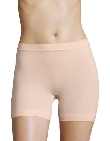 Jockey Skimmies Microfibre Slip Shorts-CREAM BLUSH-Large