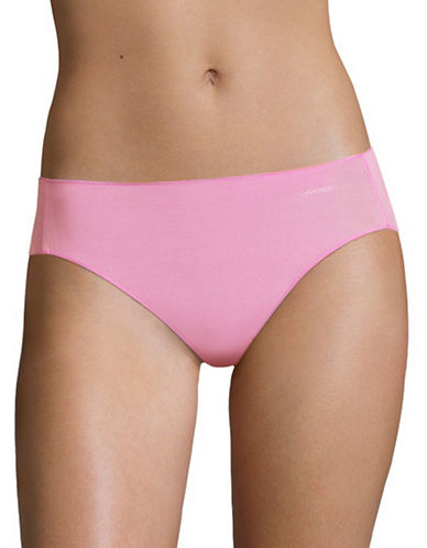 Jockey No Panty Line Bikini Briefs-IRIS PINK-5