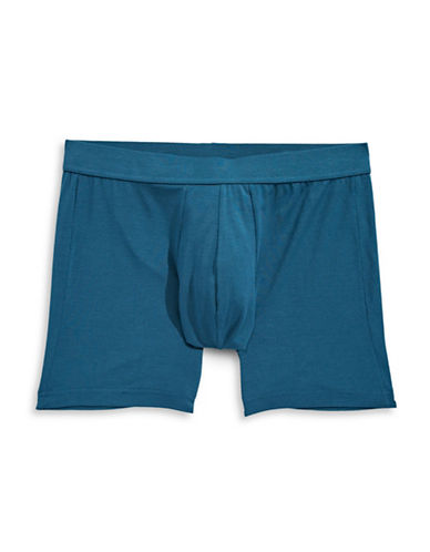 Jockey Supersoft Boxer Briefs-DARK BLUE-X-Large