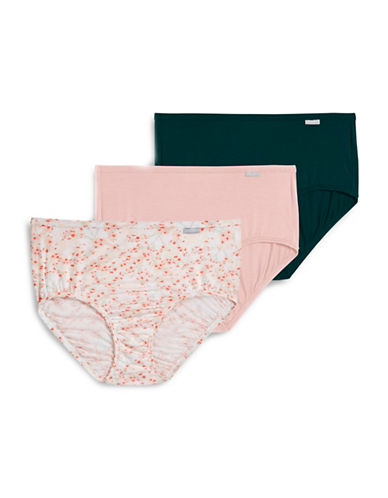 Jockey Three-Pack Classic Cut Briefs-BLOSSOM-8