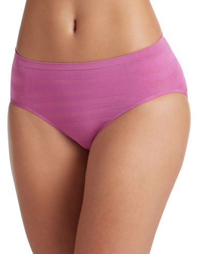 Jockey Matte and Shine Hi-Cut Briefs-FUSCHIA-7