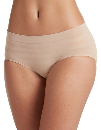 Jockey Modern-Fit Comfies Matte and Shine Seamfree Hipster-BEIGE-5
