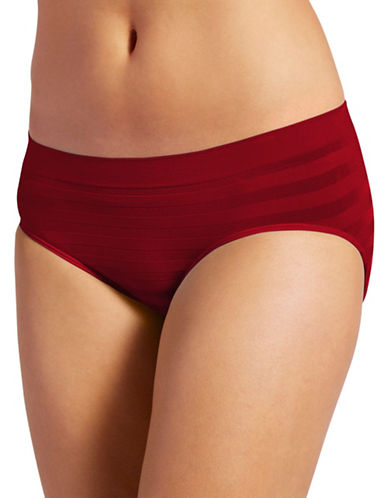 Jockey Modern-Fit Comfies Matte and Shine Seamfree Hipster-RED-8