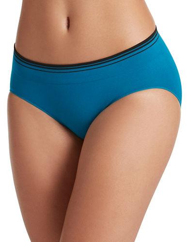 Jockey Sporties Stripe Bikini Panty-BLUE-6