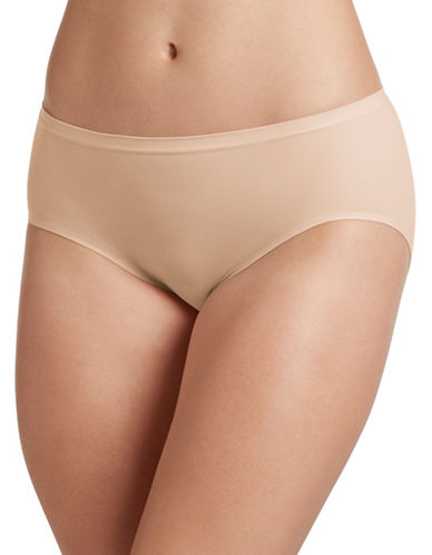 Jockey J051 Seamfree Air Hi-Cut Briefs-BEIGE-7