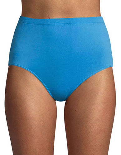 Jockey Comfies Seamfree Microfibre Briefs-MEDIUM BLUE-8