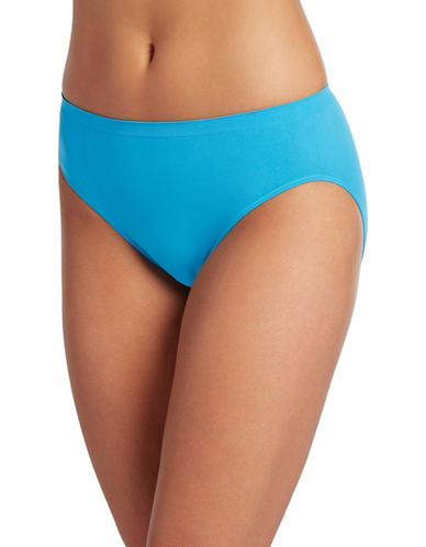 Jockey Comfies Seamfree Microfibre French Cut Briefs-MED BLUE-8