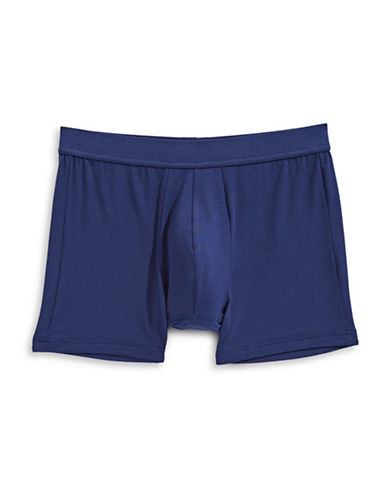 Jockey Supersoft Boxer Briefs-BLUE-Small