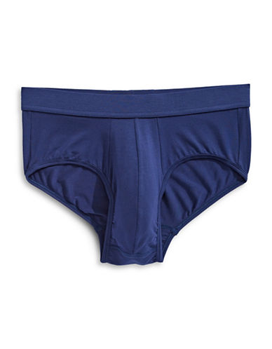 Jockey Supersoft Briefs-BLUE-Medium
