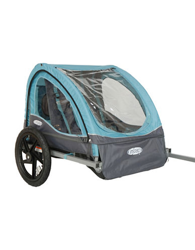 Instep Instep Take 2 Steel Bicycle Trailer-BLUE-One Size