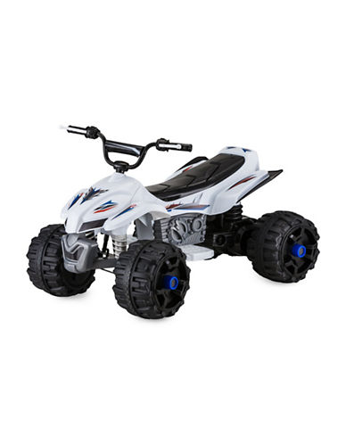 Kidtrax Pacific 12V Sport ATV-WHITE-One Size