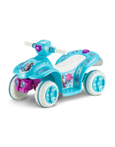 Kidtrax 6v Disney Frozen Toddler Quad-BLUE-One Size