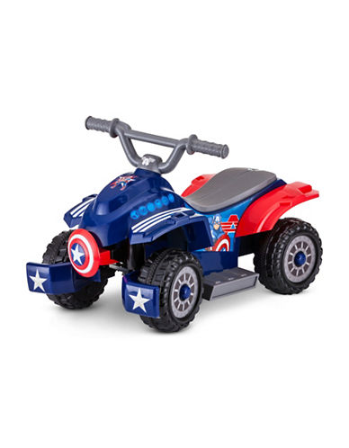 Kidtrax 6V Marvel Captain America Toddler Quad 89731057