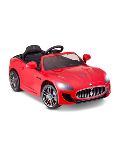 Kidtrax Maserati Granturismo MC Centennial Ride-On Car-RED-One Size