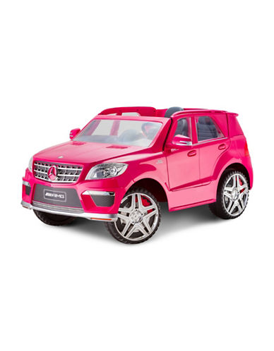 Kidtrax Mercedes Benz ML63 Ride-On Car-PINK-One Size