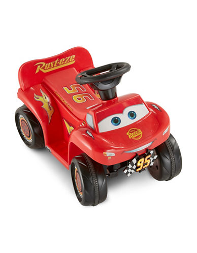 Kidtrax Disney Pixar Cars 3 MacQueen Ride-On Quad-RED-One Size