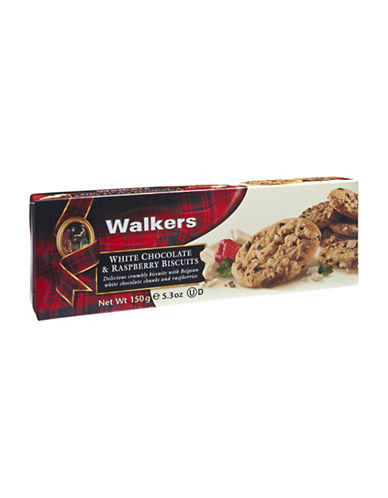 Walkers Walker White Chocolate and Raspberry Cookies-NO COLOUR-One Size