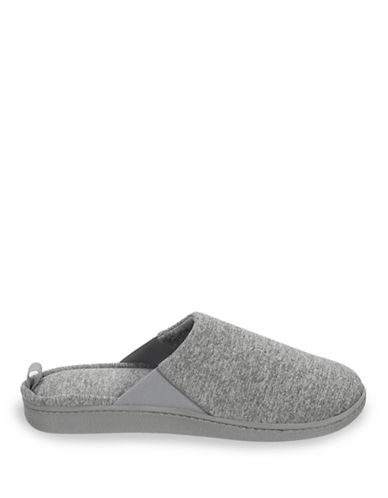 Dearfoam Memory Foam Scuff Slipper-SLEET-Medium