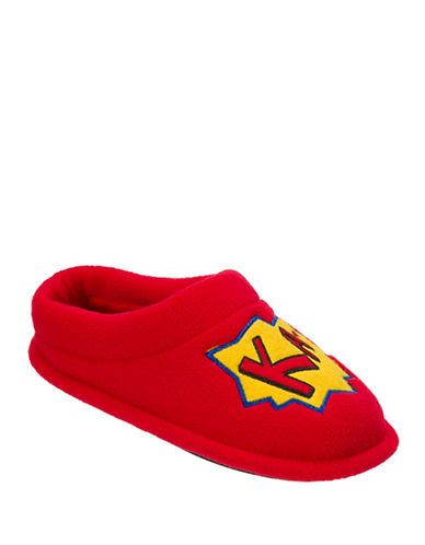 Dearfoam Novelty Slippers-RED-11-12