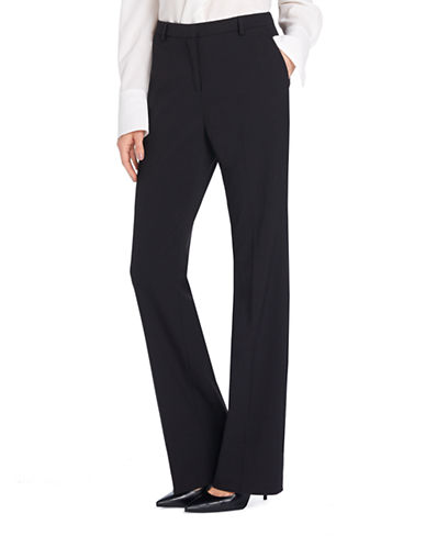 Ellen Tracy Signature Bootcut Pants-BLACK-6